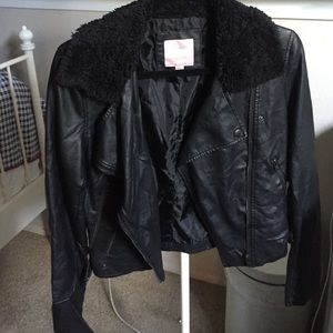 Pleather Romeo and Juliet Couture Jacket