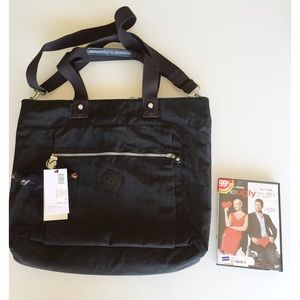 ✨NWT KIPLING LIZZY BLACK BAG