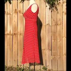 Jonathan Martin Studio Dresses - Adorable red/cream maxi dress by Jonathan Martin