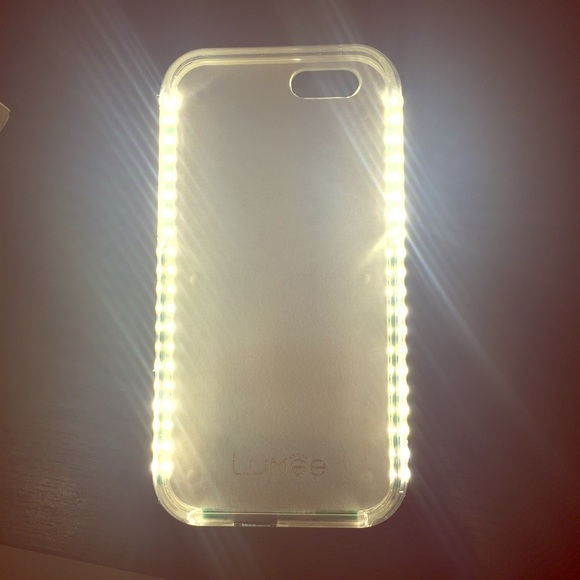 low priced 9e01a cdb3e *Brand New* Lumee Rose Gold Iphone 6 light up case