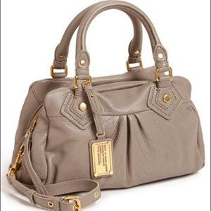 Marc Jacobs Leather Groove Satchel