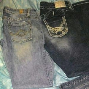 Maurice jeans, size 9/10