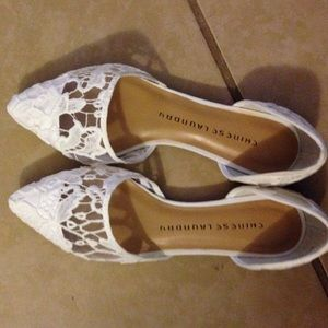 Chinese Laundry Ballet Lace Flats