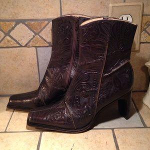 Antonio Melani Tracy Tooled Leather Boots