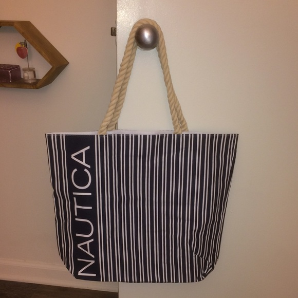 Nautica - Nautica beach bag never used from Ivee's closet on Poshmark