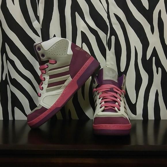 Adidas Shoes - Adidas INSTINCT Bloom HI - Sassy High Top Sneakers dd6d601540