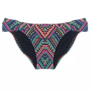 l*space Other - NWT💠L Space Printed Side Tab Hipster Swim Bottom