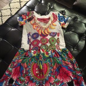 Little girls dress desigual