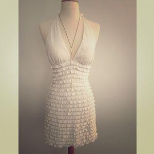 Arden b white dress yello