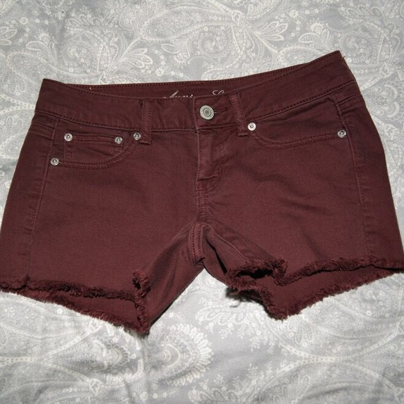 50% off American Eagle Outfitters Pants - NWOT AE Maroon Jean ...
