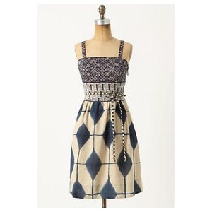 Anthropologie Magellan Dress