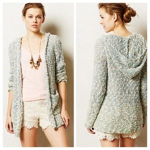 Anthropologie Marled Hoodie Sweater