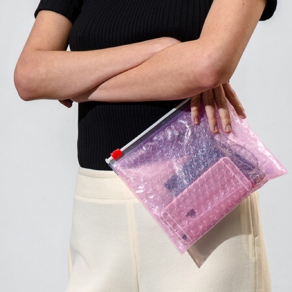 Glossier Bags Host Pick Pink Bubble Pouch Poshmark