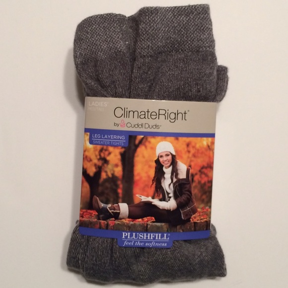 5b9792bf93469 ClimateRight by Cuddl Duds Pants | 40 Off Nwt Tights | Poshmark