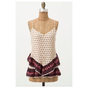 Anthropologie Buteh Borders Tank