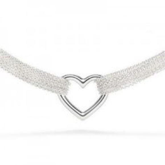 cda170287 Tiffany & Co. Jewelry   Retired Tiffany Co 10 Chain Ss Heart ...