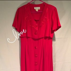 Gorgeous Red dress from Betsy's things