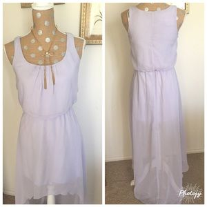 Snap Dresses & Skirts - 🌸Lavender Stunning High low Dress 🌸
