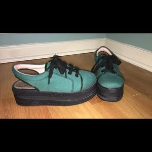 Opening Ceremony Shoes - NWT Opening ceremony platform sneakers