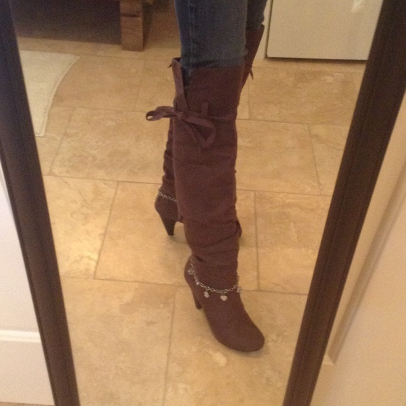 50% off Not Rated Shoes - NWOT Over the knee boot from Not Rated ...