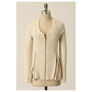 Anthropologie Zipline Cardigan