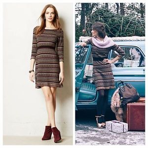Anthropologie Clara Sweater Dress