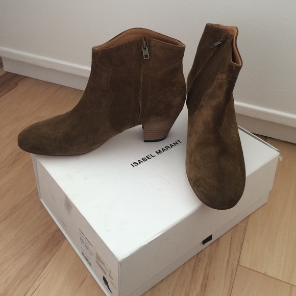 02fbe96581 Isabel Marant Shoes | Dicker Boots Brown Size 40 Nwt | Poshmark