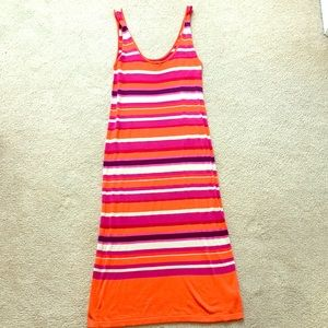 Striped Swim Cover Up - New without Tags