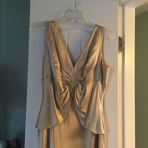 Gold prom/evening dress