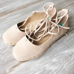 Steve Madden Shoes - Steve Madden lace up espadrille NWOB