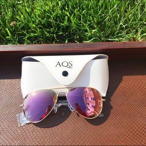 AQS Accessories - Blush Pink AQS Aviators