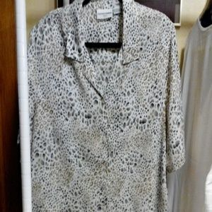 Alfred Dunner Tops - Comfortable Blouse plus size