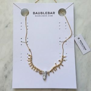 Baublebar Jewelry - Baublebar Howlite/Gold Necklace