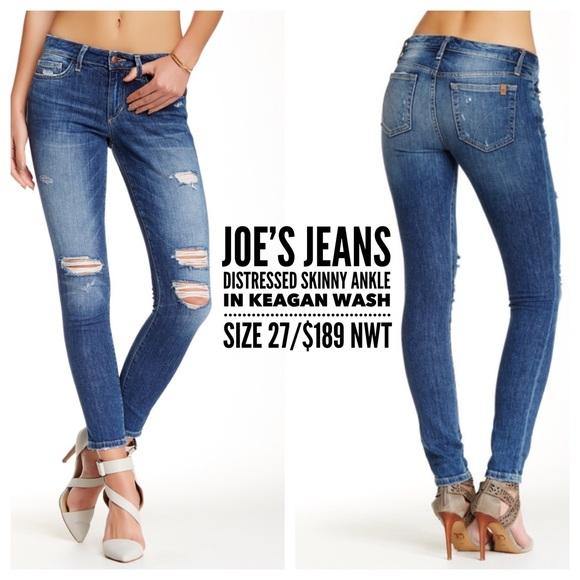 74% off Joe's Jeans Denim - Joe's Jeans👖Distressed Ankle Skinny ...