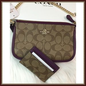8957c1d3bc50 Coach Bags - FINAL PRICE ⚡️Coach Bag   Card Holder