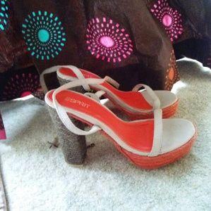 Esprit sandals, never worn.
