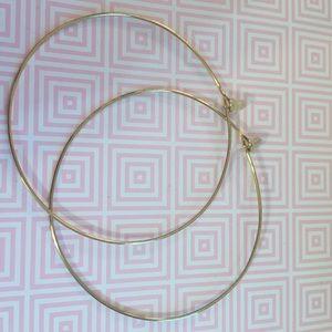 Towne & Reese Jewelry - Town & Reese Gold Hoop Earrings