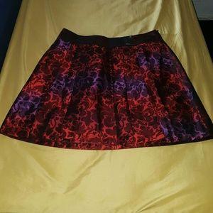 Lane Bryant Pleated Skirt