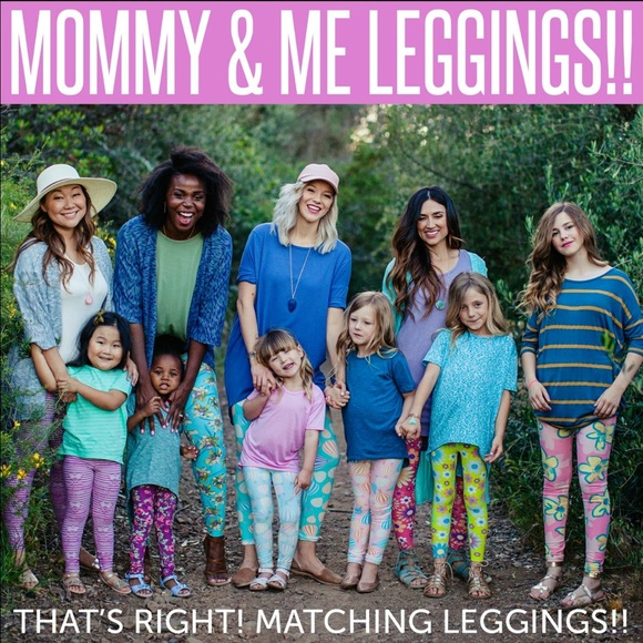 LuLaRoe Pants - Lularoe LLR mommy and me leggings d836aabf66