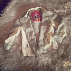 Collection B Jackets & Blazers - NWOT COLLECTION B by Bernardo MOTORCYCLE JACKET