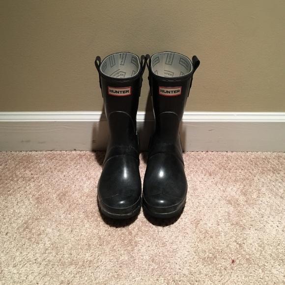 5156d669d5ec Hunter Shoes - Hunter Original Short Boots - Black (W23615)