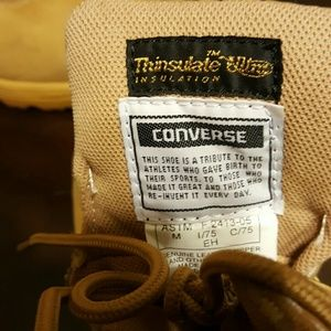 141630e87df Converse Shoes - MEN INSULATION Working boots converse size 11 wide