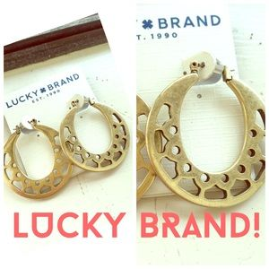 Lucky Brand Jewelry - LUCKY BRAND EARRINGS