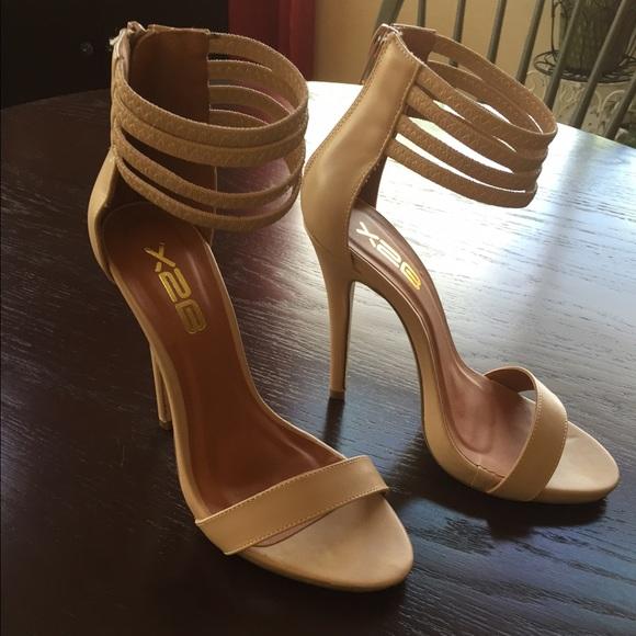 ALDO - X2B brand 5 inch nude heels. from Katy's closet on Poshmark