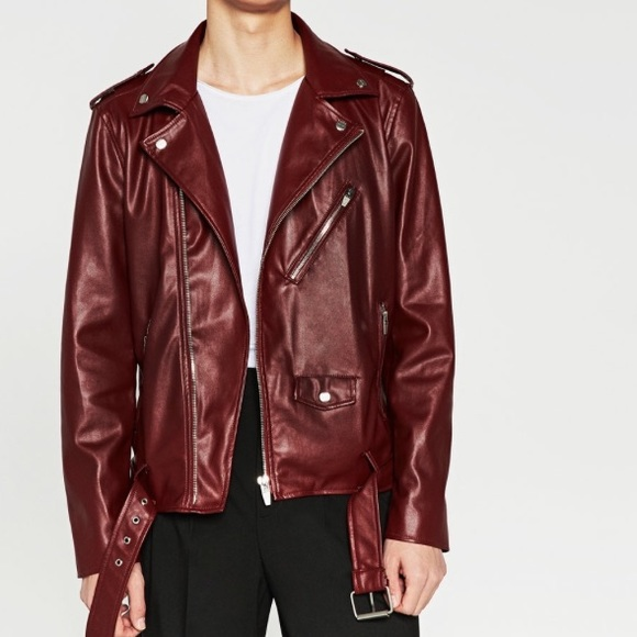 ce621b35 Zara Jackets & Coats | Bnwt Men Faux Leather Jacket | Poshmark