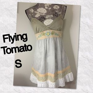 Flying Tomato Tops - Flying Tomato tunic style tank or mini dress S