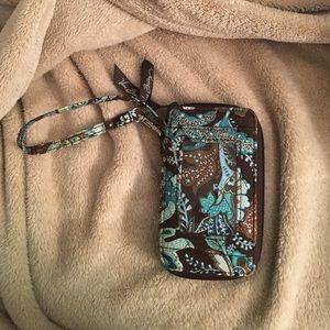 Vera Bradley wristlet *Java Blue* discontinued