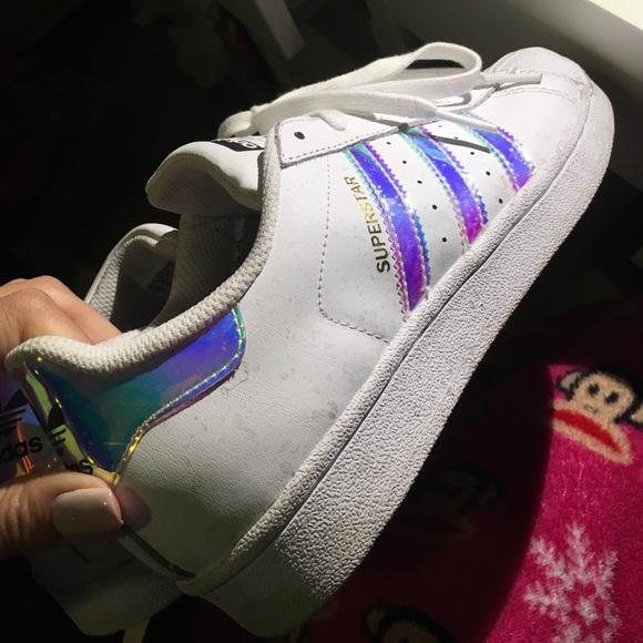 buy cheap online adidas superstar holographic stripes. Black Bedroom Furniture Sets. Home Design Ideas