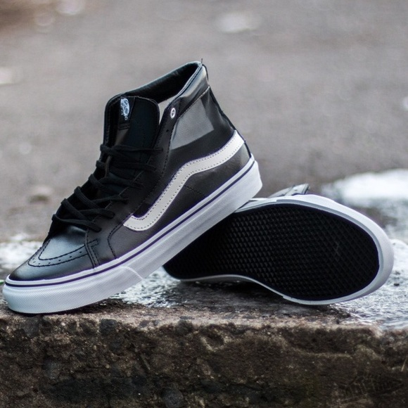 3067503304 New in Box Vans MESH SK8-HI SLIM CUTOUT