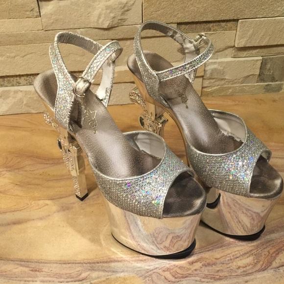 ca809289ad7 Used Pleaser Stripper Heels. M 5720525299086a05eb01642a